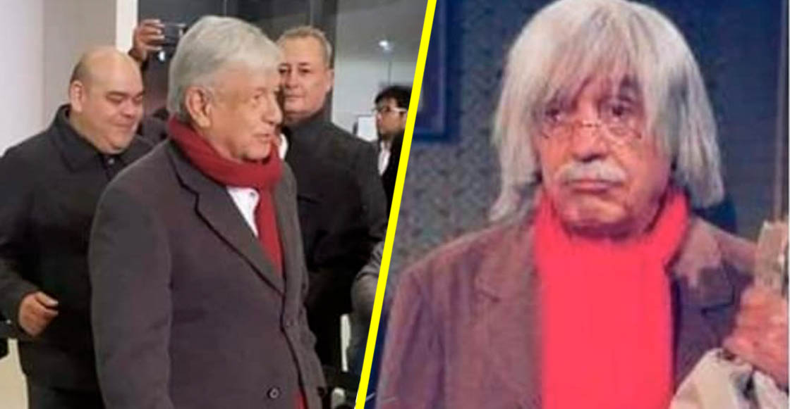 AMLO se vistió como el Doctor Chapatín y sí, ¡llegaron los memes!