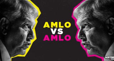 AMLO vs AMLO: Las contradicciones de López Obrador como presidente
