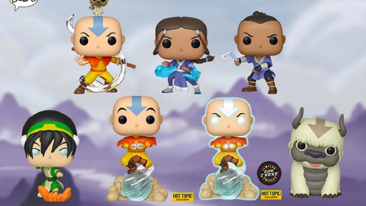 ¡Gracias, Nación del Aire! Funko lanzó la colección completa de 'Avatar: La leyenda de Aang'