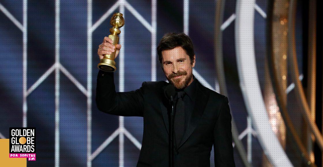 Hail Christian! La Iglesia de Satán celebra victoria de Christian Bale en los Golden Globes 2019
