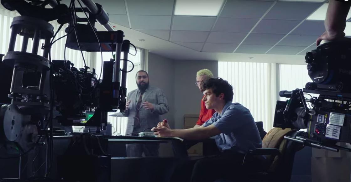 Checa el detrás de cámaras de 'Black Mirror: Bandersnatch' de Netflix