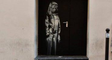 Roban mural de Banksy dedicado a las víctimas del Bataclan 🙁