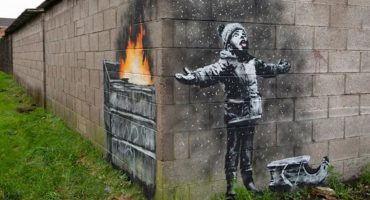 Un hombre pagó más de 100 mil dólares por una obra callejera de Banksy