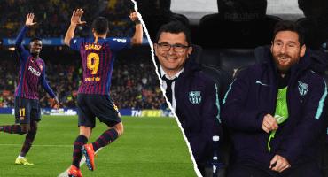 Messi sale de la banca para rescatar al Barcelona ante el Leganés