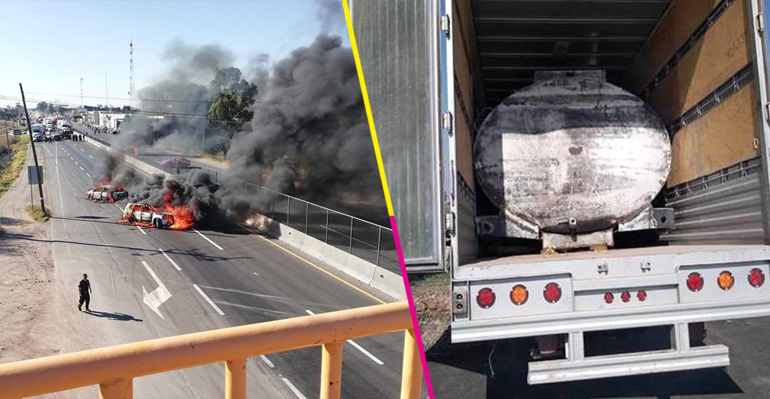 Pobladores de Villagrán, Guanajuato, bloquean carreteras para impedir decomiso de huachicol