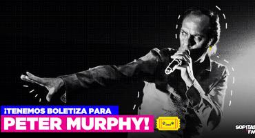 Oh Bela: ¡Tenemos boletos para Peter Murphy en el Teatro Metropólitan!