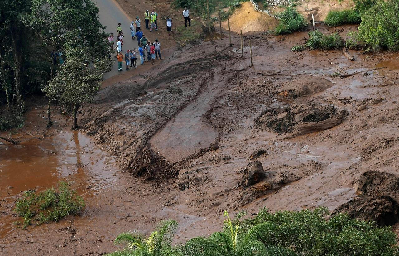 En imágenes: La avalancha de lodo en Brumadinho, Brasil, que dejó cientos de desaparecidos