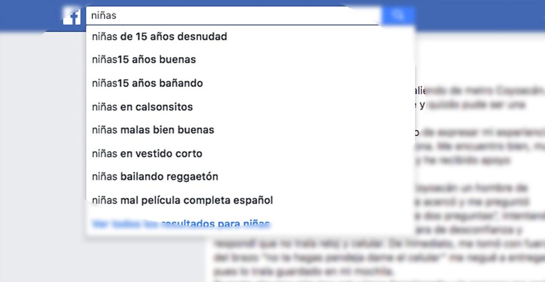 ¡Qué rayos México! Esto es lo que te sale en el buscador de Facebook cuando escribes