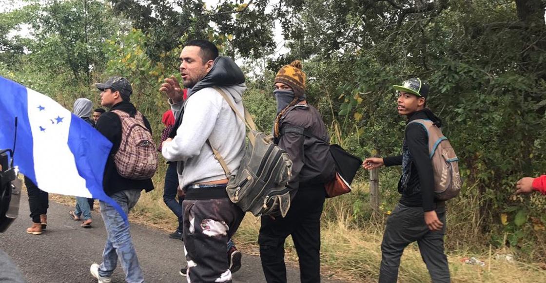 Caravana Migrante ingresó de manera ordenada a territorio mexicano; tendrán visa humanitaria