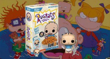 ¡Agárrate, nostalgia! Llegó el cereal de Rugrats y trae un Funko