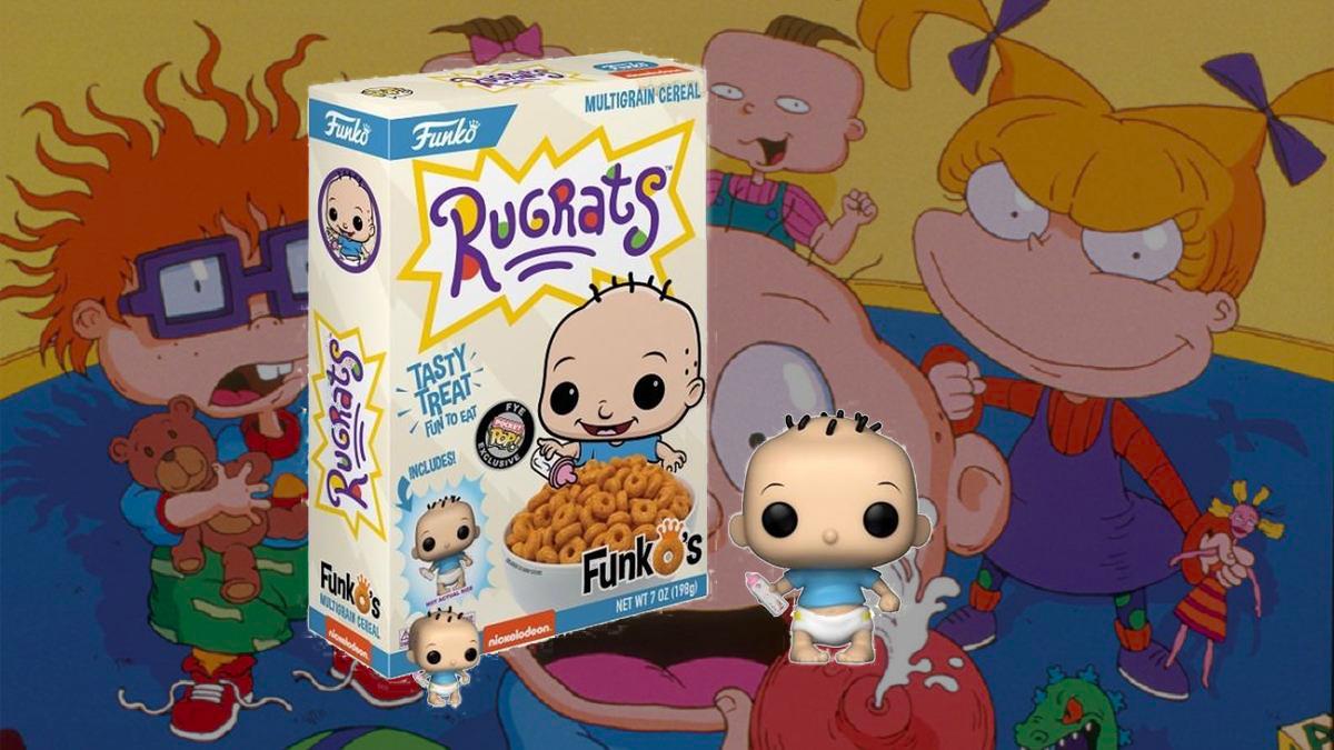 ¡Agárrate, nostalgia! Llegó el cereal de Rugrats Aventuras en Pañales y trae un Funko