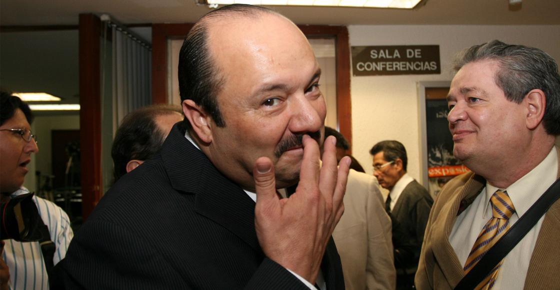 ¿Hasta apenas? El PRI anuncia la expulsión de César Duarte, exgobernador de Chihuahua
