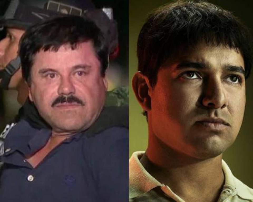 """Chapoception: Actor que interpreta al Chapo en """"Narcos"""" asiste al juicio de Joaquín Guzmán"""
