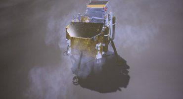 China asegura que logró descender nave en el lado oscuro de la Luna