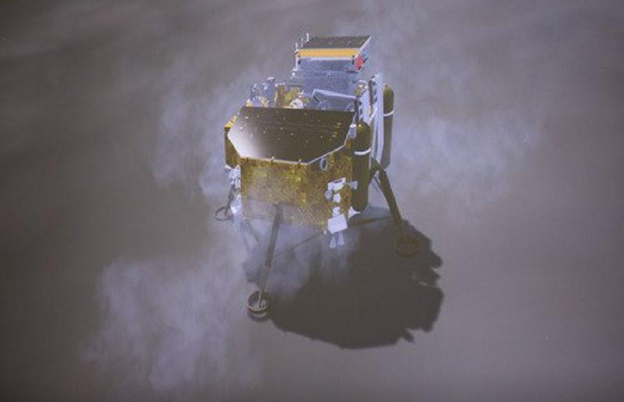 China aluniza nave en el lado oscuro de la Luna