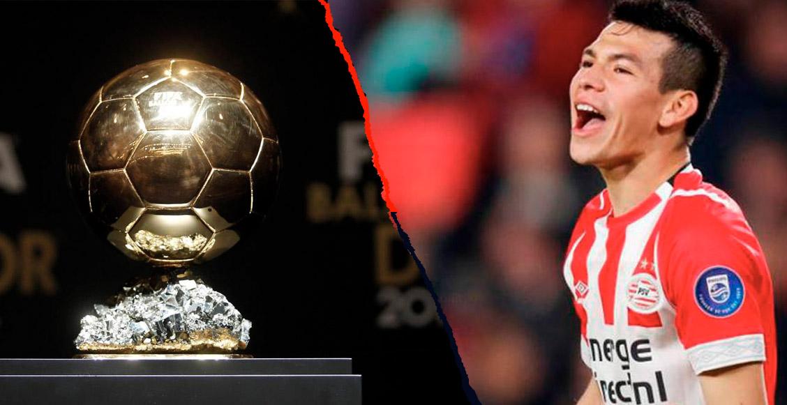 Próximo objetivo del 'Chucky' Lozano: Luchar por el Balón de Oro