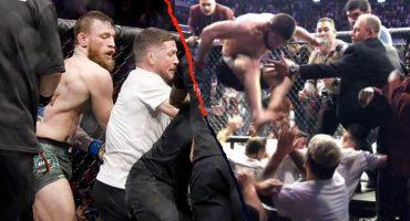 ¡McGregor y Nurmagomedov son suspendidos por la batalla campal en UFC 229!