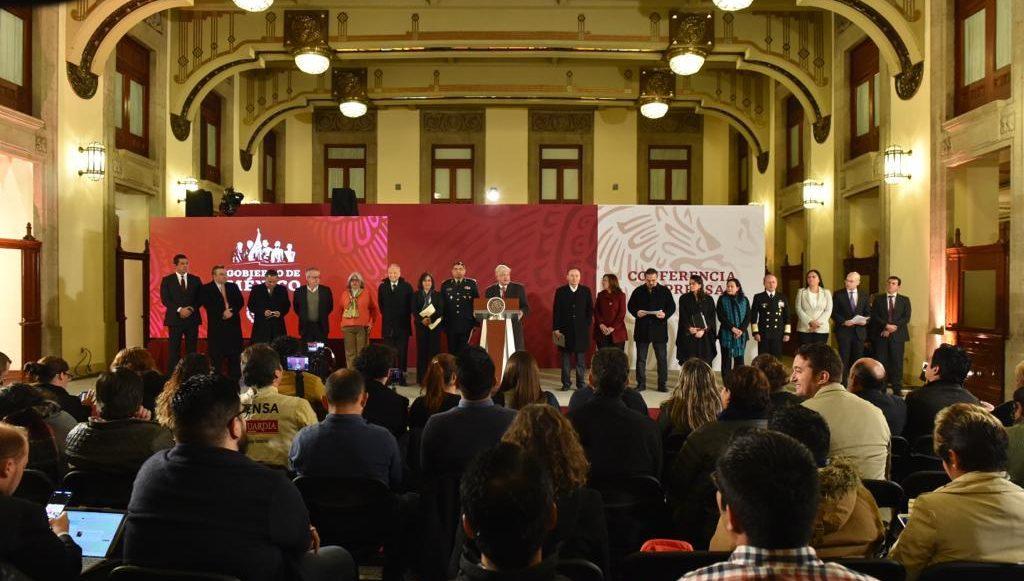 Conferencia AMLO 14/01/2019