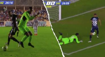 A Allison le dio por sentirse Neuer y casi deja en ridículo a Cruz Azul en la Copa MX