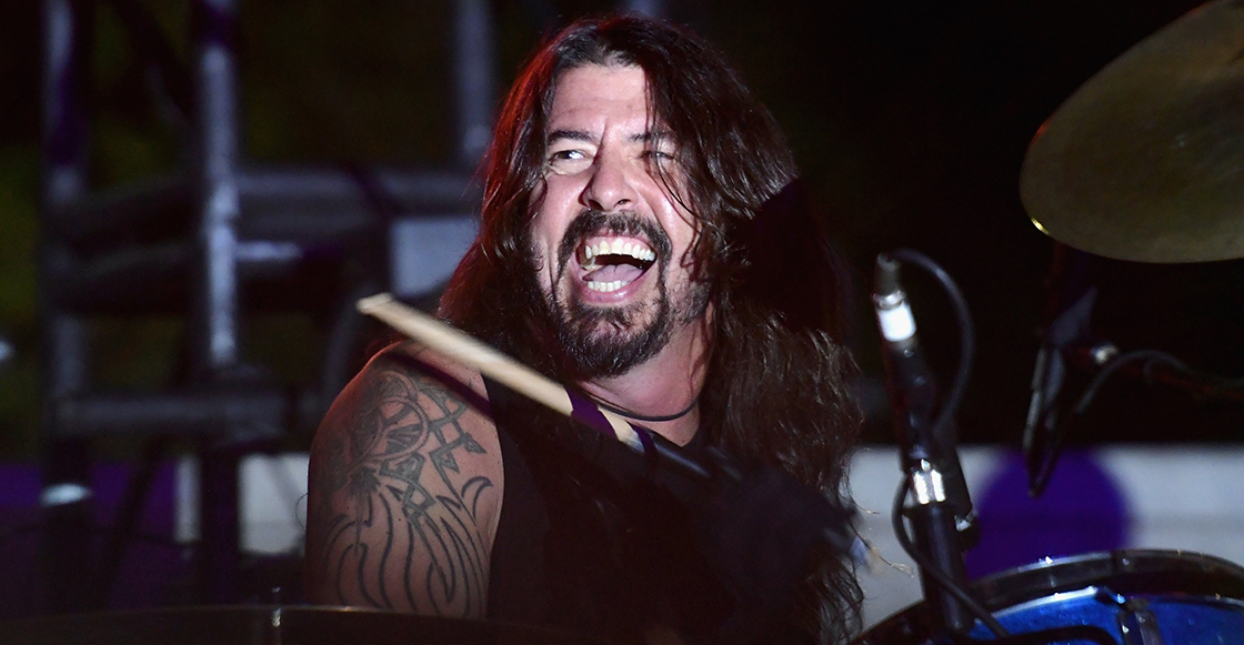 El blooper de Dave Grohl durante un show de Foo Fighters