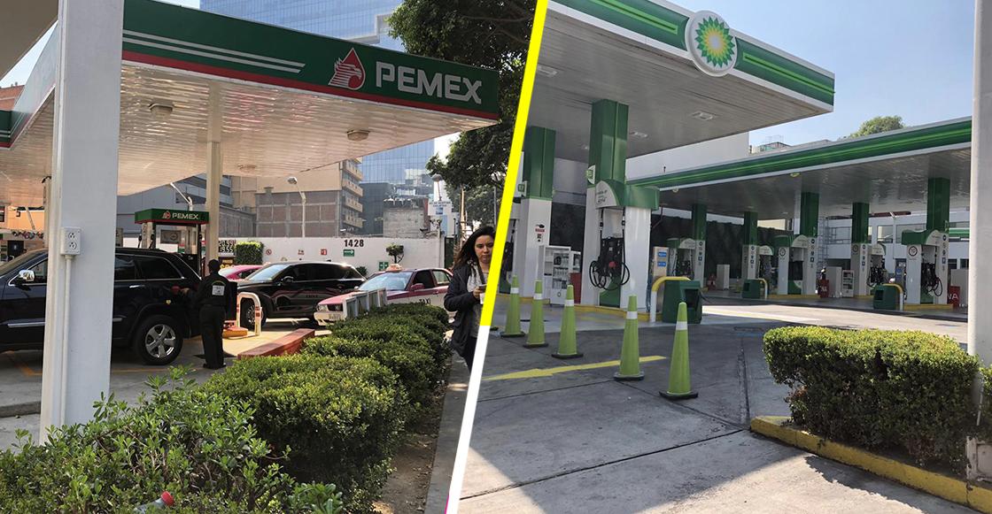 ¡Nos alcanzó! Se reporta desabasto de gasolina en varias zonas de la Ciudad de México