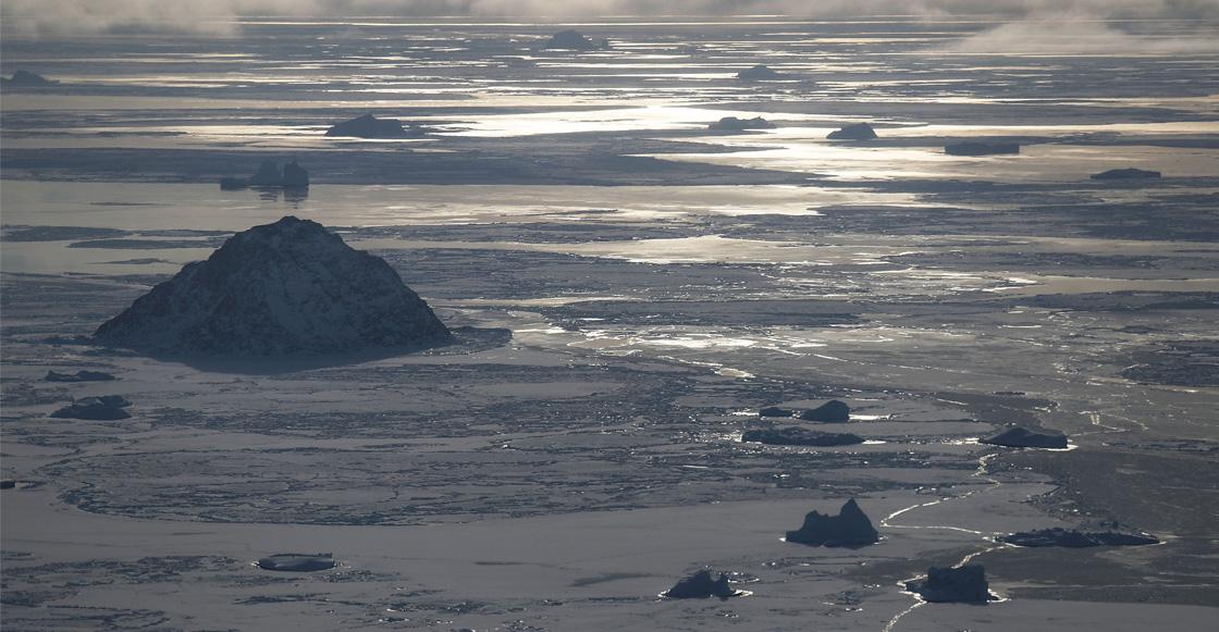 Los glaciares en Groenlandia se derriten cuatro veces más rápido que en 2003