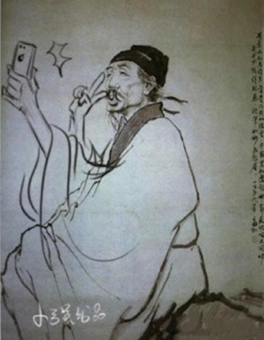 Japoneses dibujan sobre libros de texto