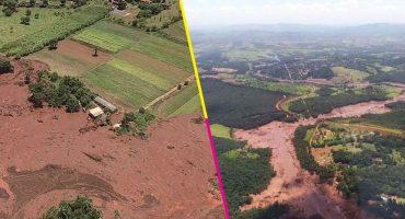 Un dique de residuos mineros se rompió en Brumadinho, Brasil; no se sabe cuántas víctimas hay