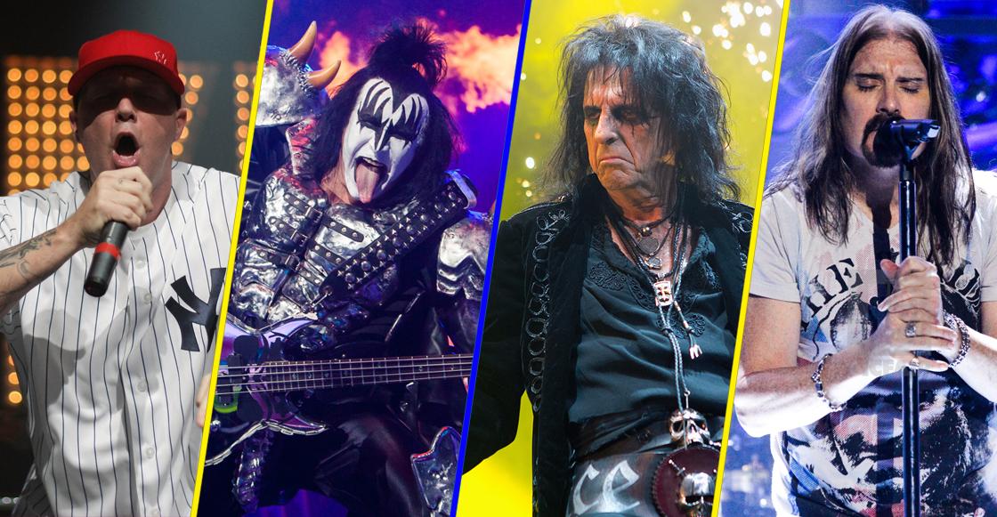 Kiss y Alice Cooper encabezan primera edición del Domination