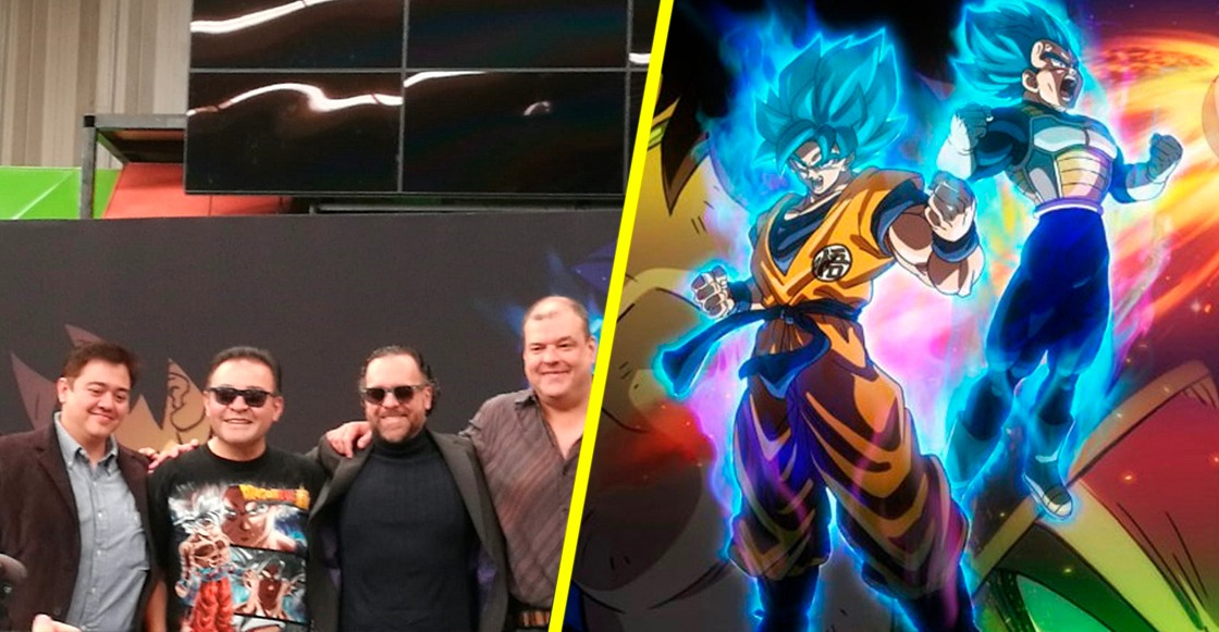 Dragon Ball Super: Broly- Actores de doblaje