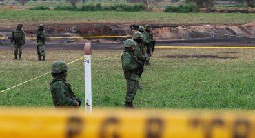 La CNDH señala al Ejército por 'inacción' en la explosión del ducto en Tlahuelilpan