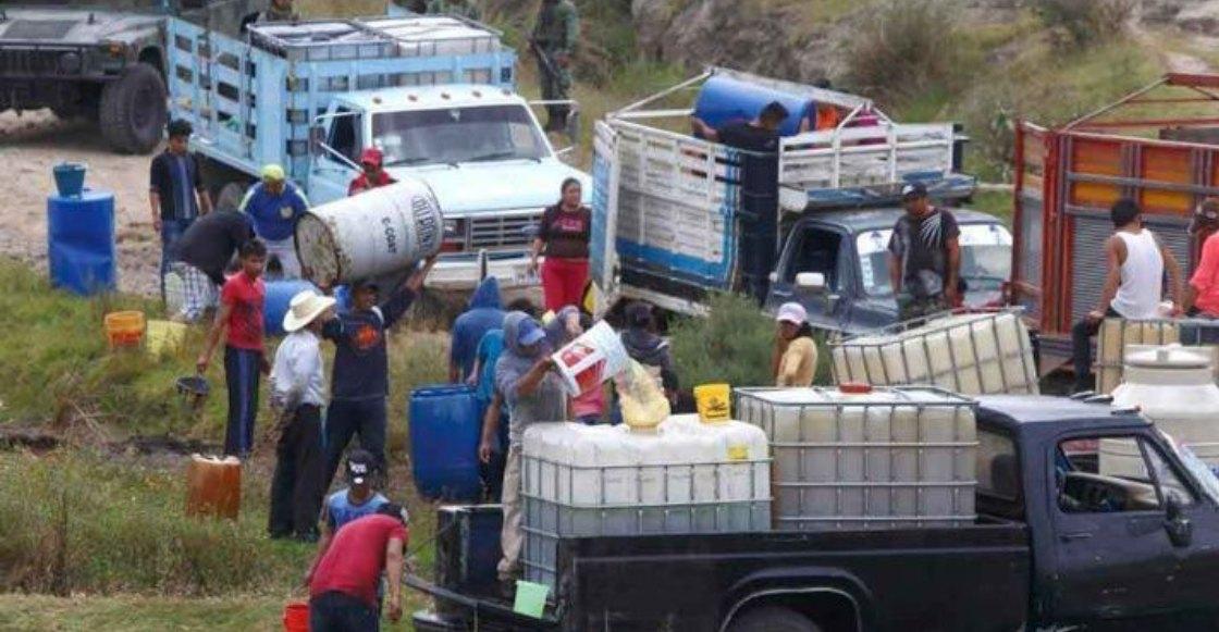 Esposa de víctima de Tlahuelilpan pide a AMLO apoyar el huachicoleo