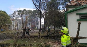 Explota coche bomba en escuela de policías de Bogotá, Colombia; al menos 9 muertos