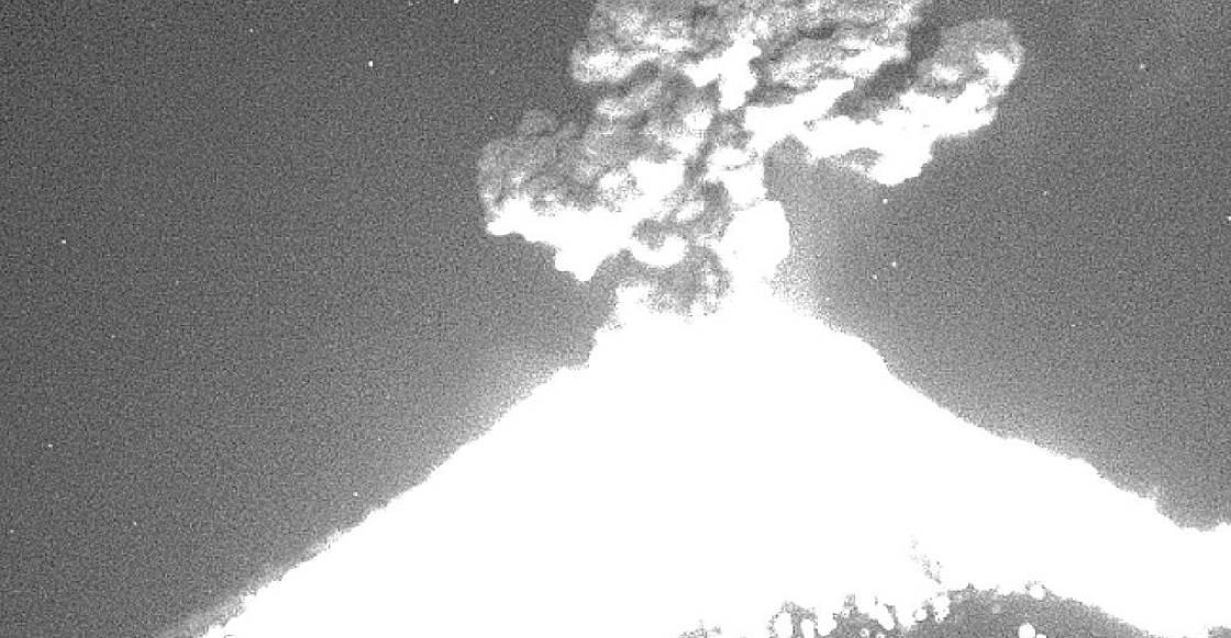 ¡Ya se enojó Don Goyo! Popocatépetl registra fuerte explosión