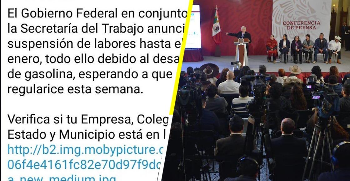 fake-news-gobierno-falso-suspender-labores-desabasto-gasolina-whatsapp