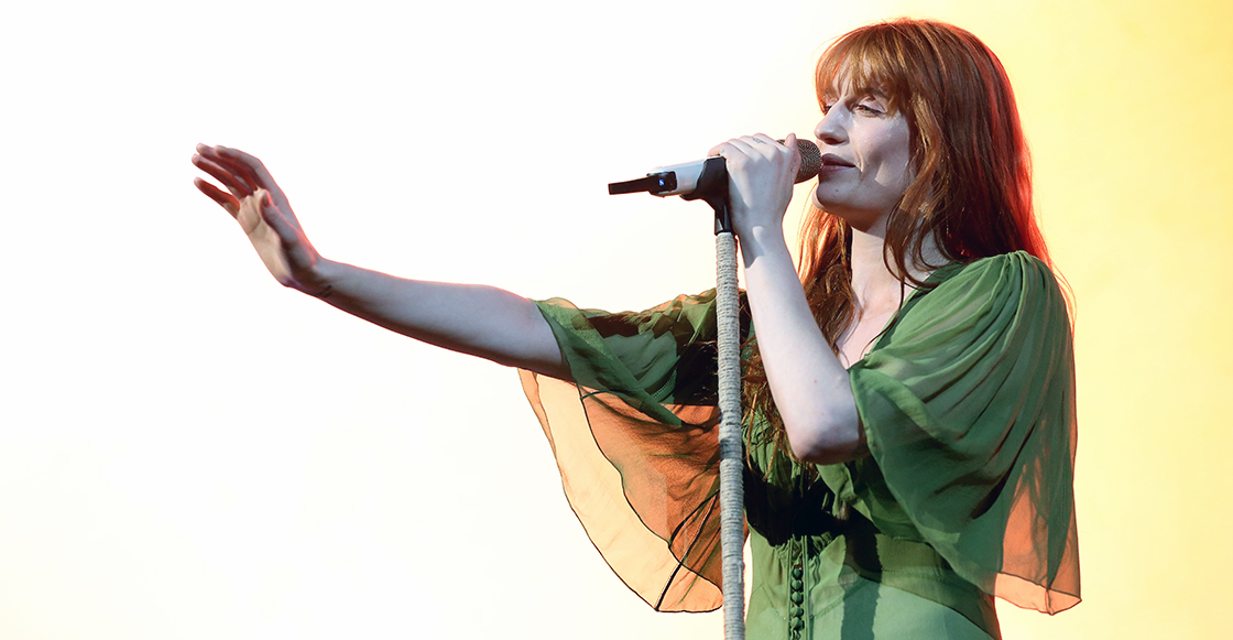 "Escucha ""Moderation"" y ""Haunted House"", los nuevos tracks de Florence + The Machine"