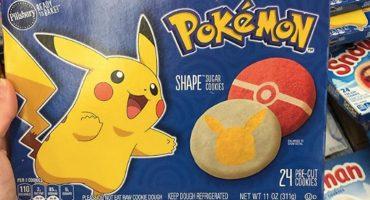 Una persona encontró galletas de Pokémon y ahora las queremos