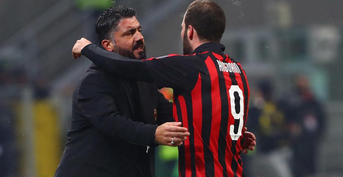 Gattuso no piensa retener más a Higuaín y le da 'luz verde' para que se vaya al Chelsea