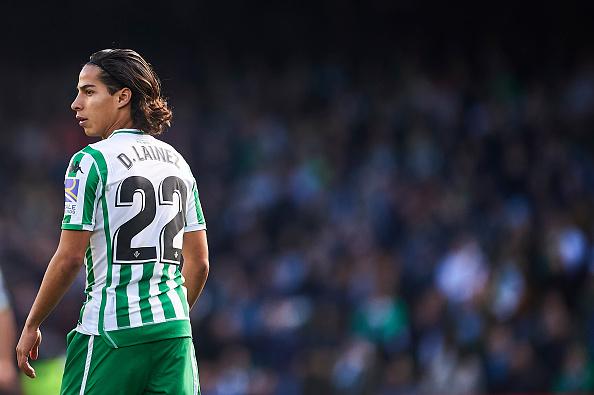 El nuevo ídolo de La Liga, Diego Lainez, dio sus primeras palabras tras debutar con el Betis