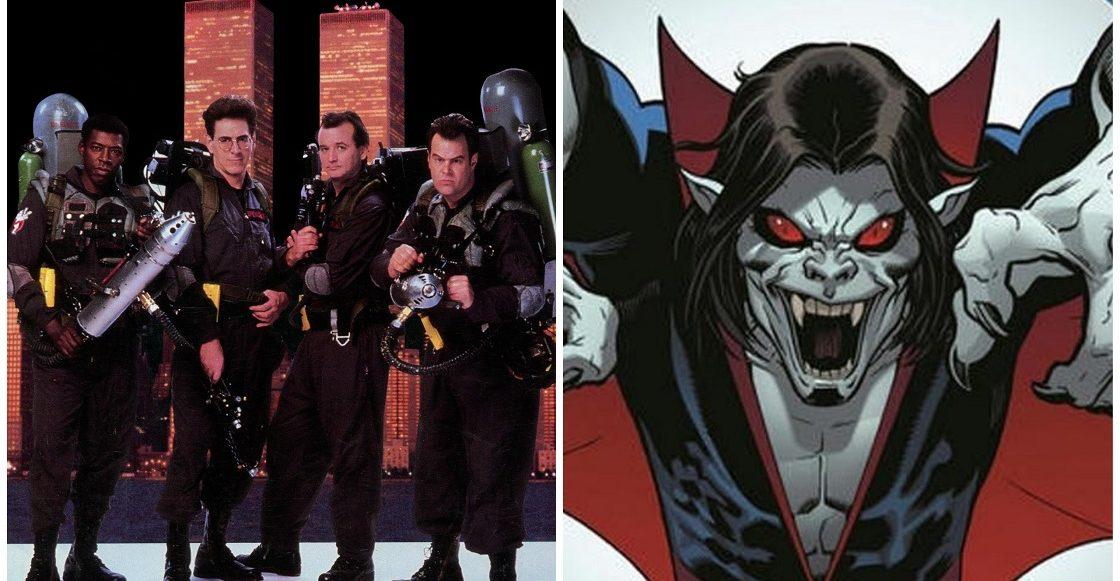 Ghostbusters 3 y Morbius - Fechas de estreno