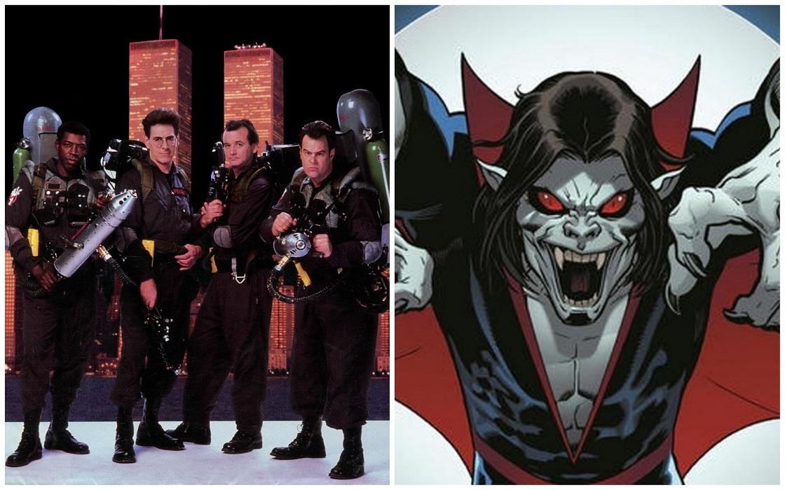 ¡Ya existen fechas de lanzamiento para 'Morbius' y 'Ghostbusters 3'!