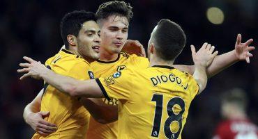 ¡El 'Lobo' Alfa! Raúl Jiménez le anotó al Shrewsbury Town en la FA Cup