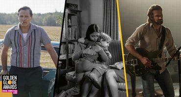 Estas son las películas favoritas para ganar en los Golden Globes 2019