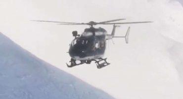 Habilidad nivel experto: Piloteando un helicópterode sobre los Alpes