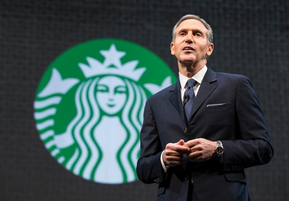 Howard Schultz, exCEO de Starbucks