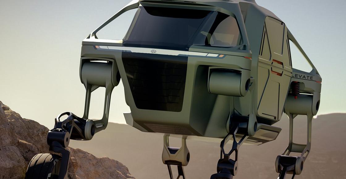 ¡¿Qué clase de Black Mirror es esto?! Ya hay un auto que puede caminar y trepar
