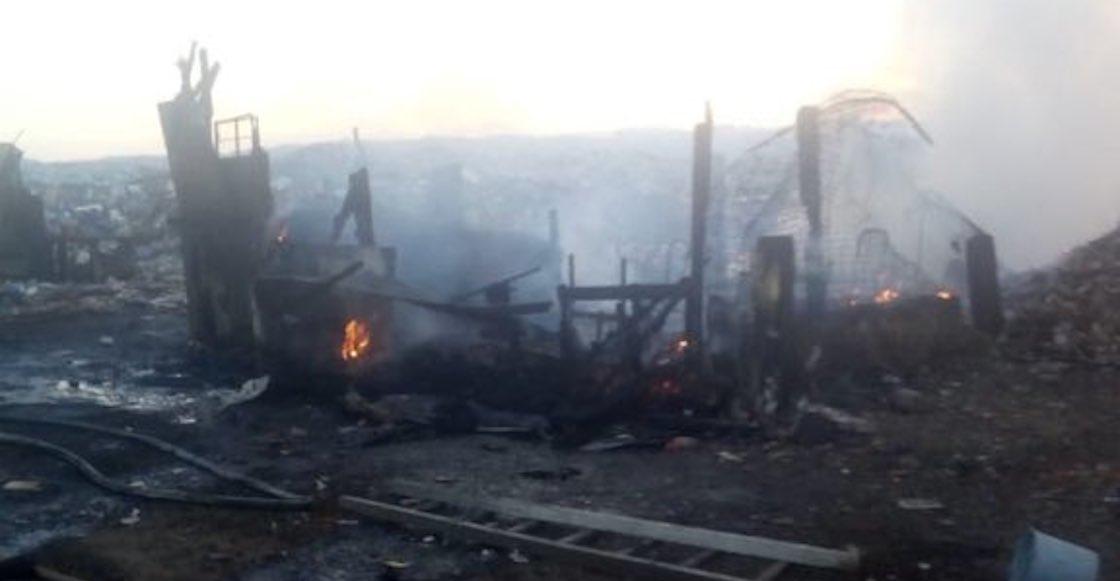 Al menos dos muertos tras un incendio en el Bordo de Xochiaca