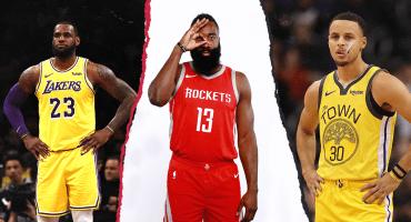 Ni LeBron ni Curry, el presente de la NBA es James Harden