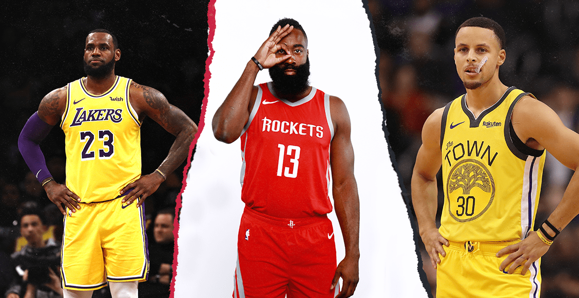 Ni LeBron ni Curry, el presente de la NBA es James Harden