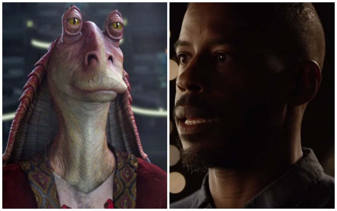 Ahmed Best - Actor que interpretó a Jar Jar Binks
